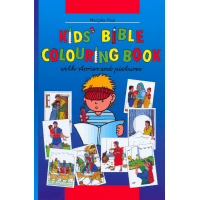 Bible à colorier en anglais - Kids' bible coloring book with stories and pictures