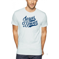 JESUS SAVES - T-SHIRT HOMMES - TAILLE L