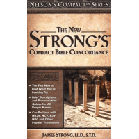 NEW STRONG'S COMPACT BIBLE CONCORDANCE (THE) PB