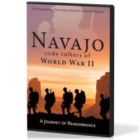 Navajo code talkers of World War II - Journey of Remembrance ANG - DVD