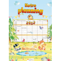 Notre planning - Calendrier mural