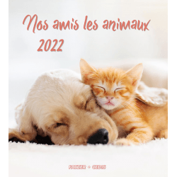 Nos amis les animaux - Calendrier grand format
