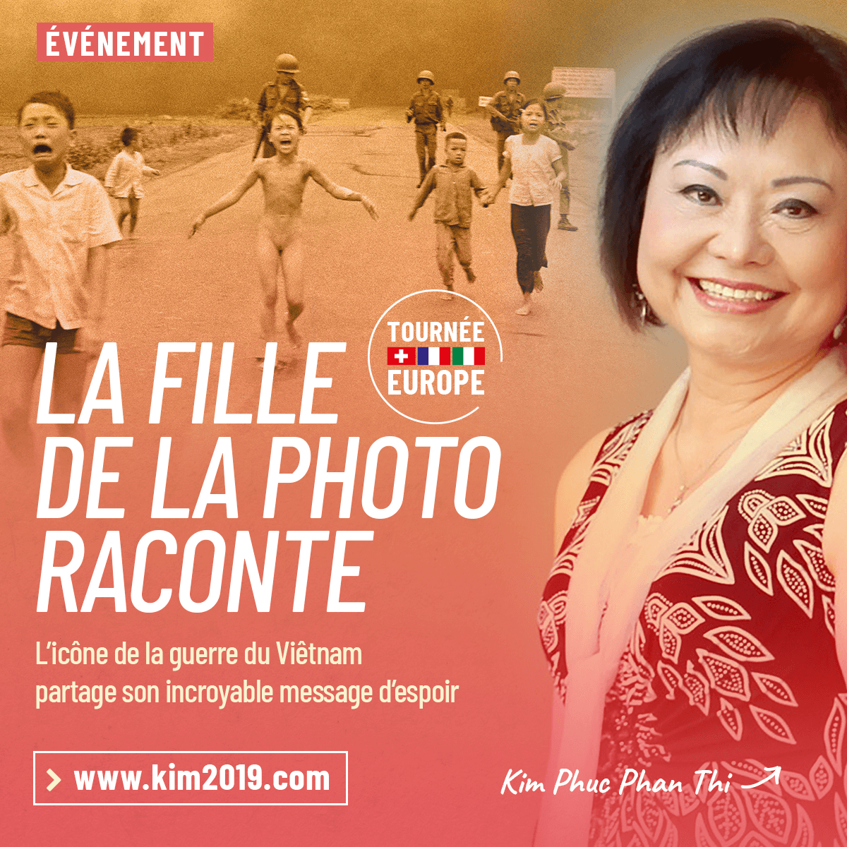 Kim Phuc Phan Thi, la fille de la photo raconte
